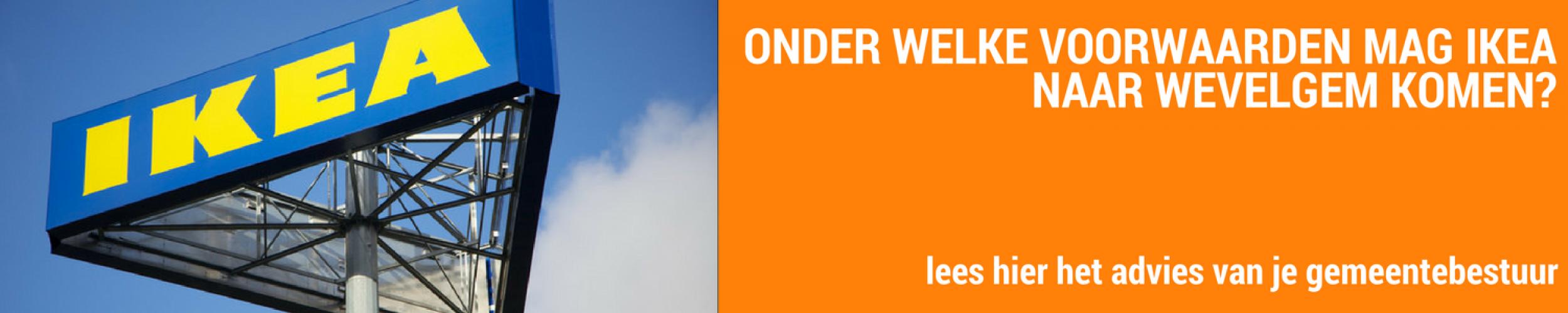 Gemeente Wevelgem: onder welke voorwaarden mag IKEA komen?