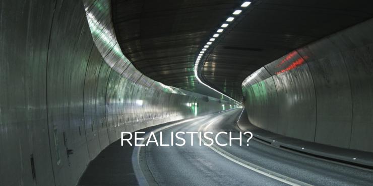 Waarom een tunnel toch een luchtkasteel blijkt.
