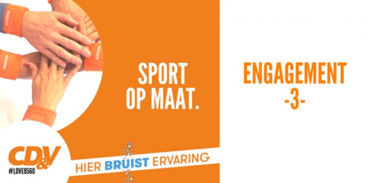 Engagement 3 - Sport op maat.