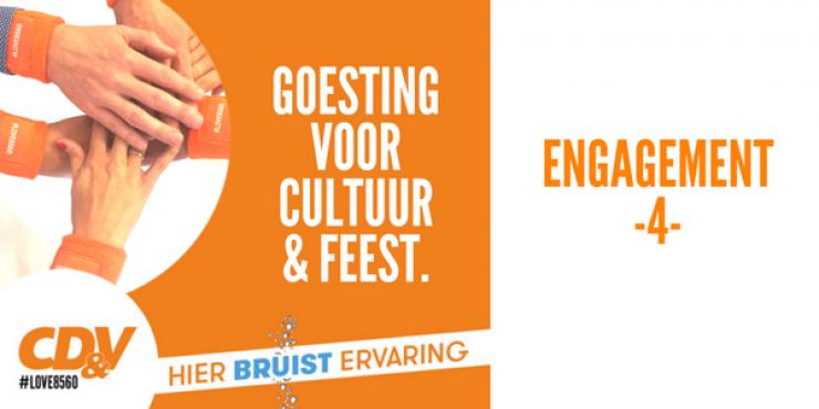 Engagement 4 - Goesting voor cultuur & feest.